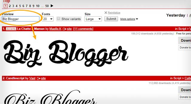 how to choose fonts for website